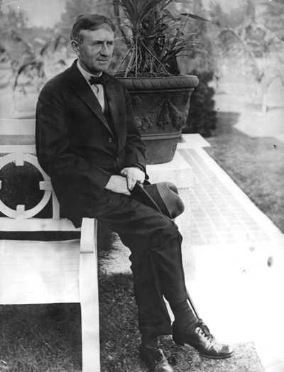 The American industrialist, Harvey Firestone (1868-1932). (Getty Images)