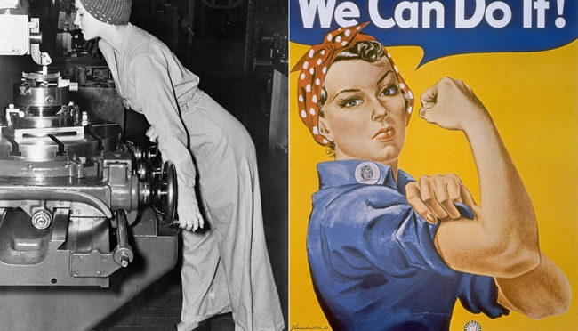Viva Naomi Parker / Rosie the Riveter