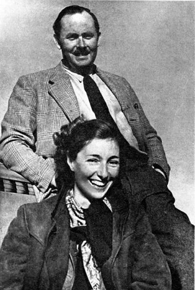 Krystina Skarbek, alias Christine Grenville con Andrzej Kowerski, alias Kennedy