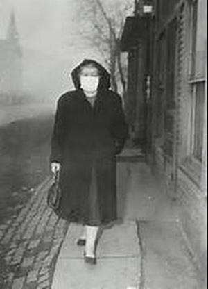 donora-mascara-contaminación-smog-1948-catástrofe