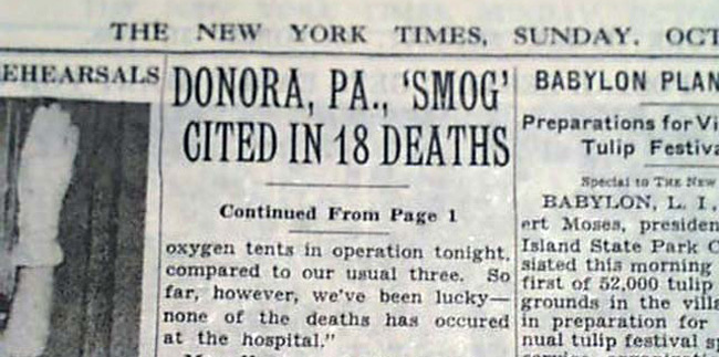 donora-noticia-new york times.muertes contaminación